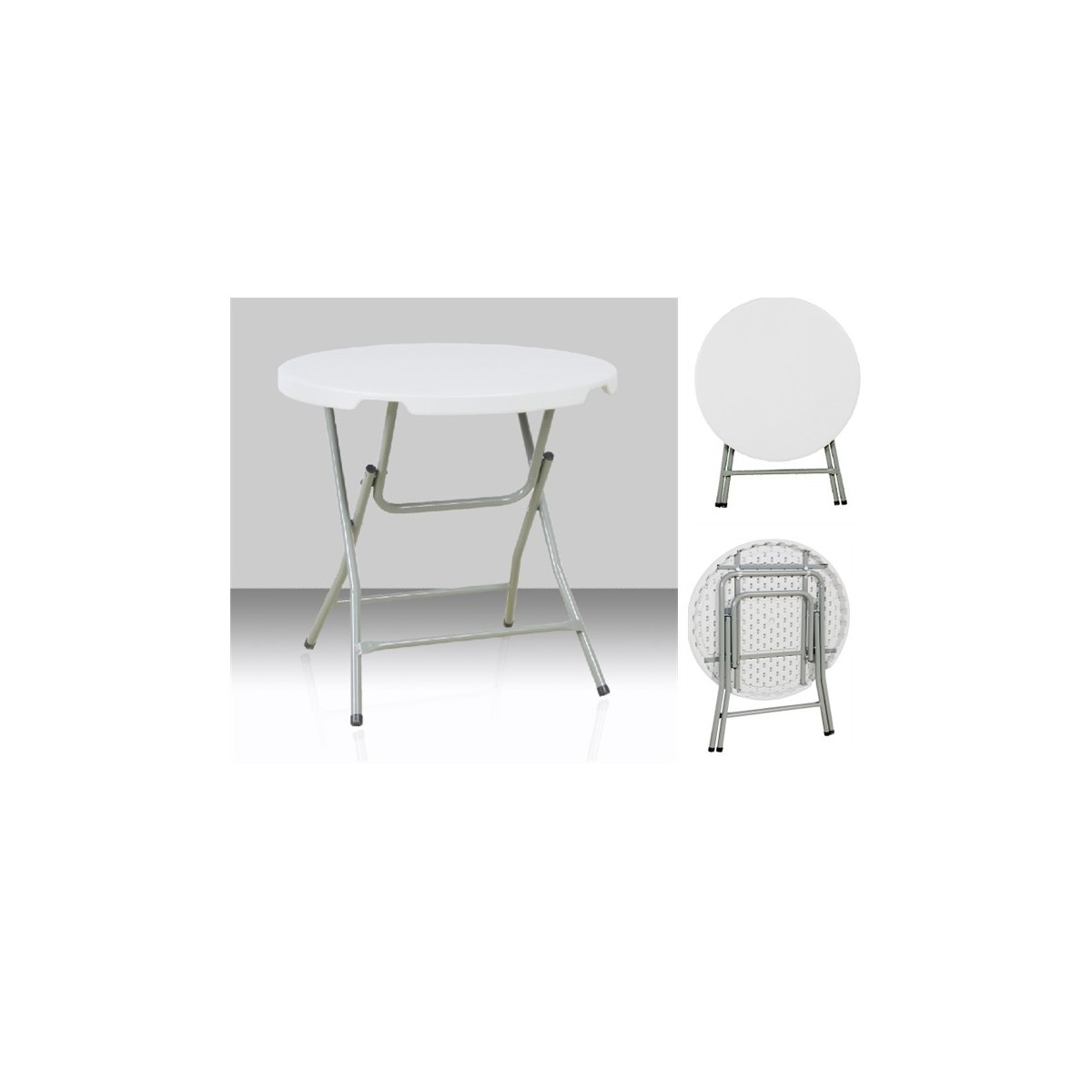 Table Ronde 80 Cm Table Ronde Ø 80 Cm Bjs Bjs Matériel Tp