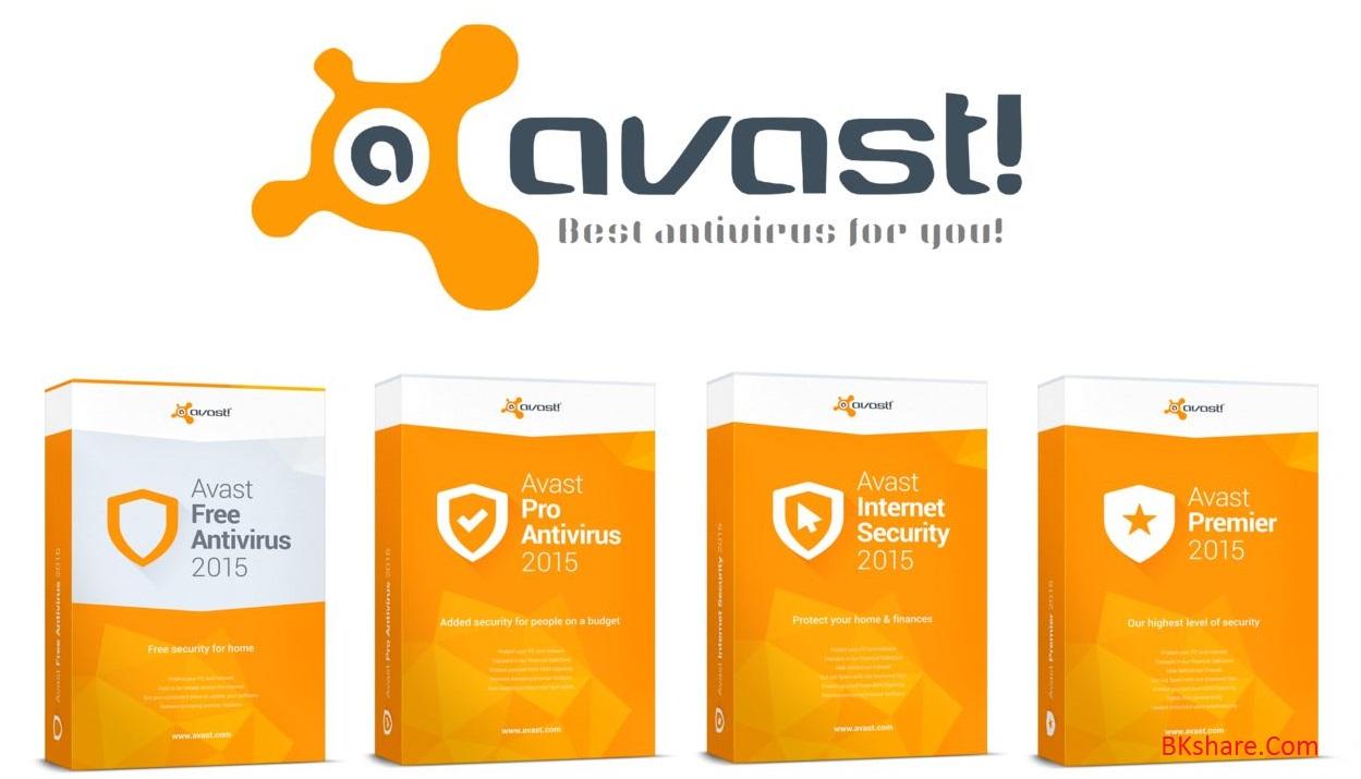 Download Avast antivirus 2015 và key bản quyền miễn phí