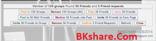 Code F12 Facebook đa chức năng