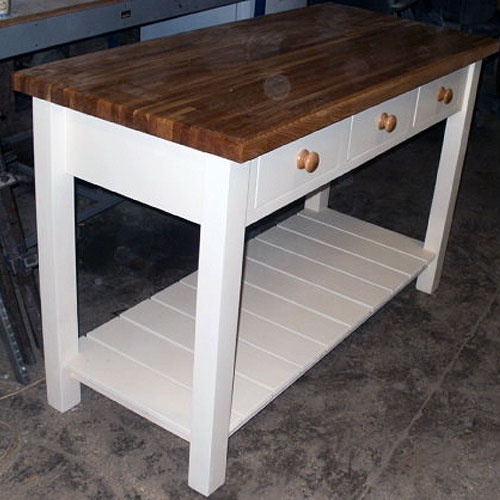 Free Standing Kitchen Island With Breakfast Bar Kitchen Furniture By Black Barn Crafts, Kings Lynn, Norfolk