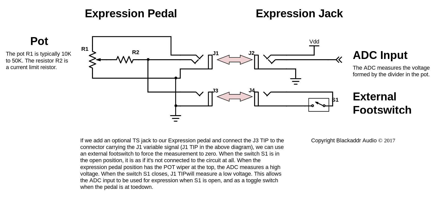 Expression Pedal Wiring Diagram Valve Auto Uxcell Led Circuit Diagrams