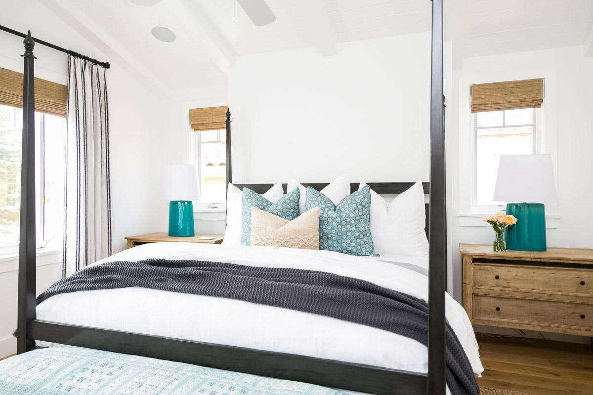 Black Four Post Bed Project Lido Reveal