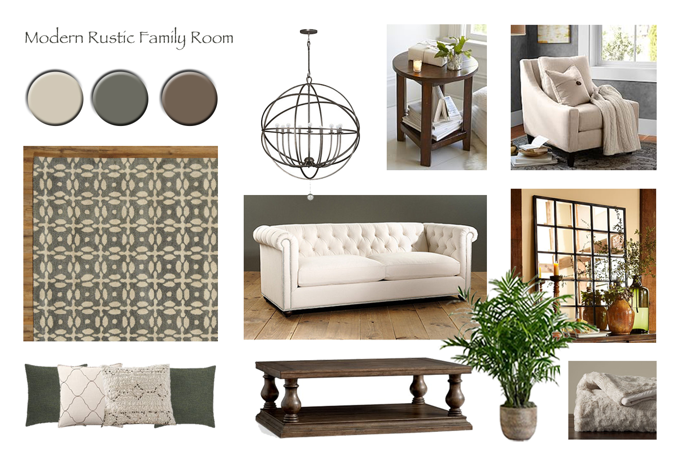 Rustic Family Room Modern Rustic Family Room Online Interior Design