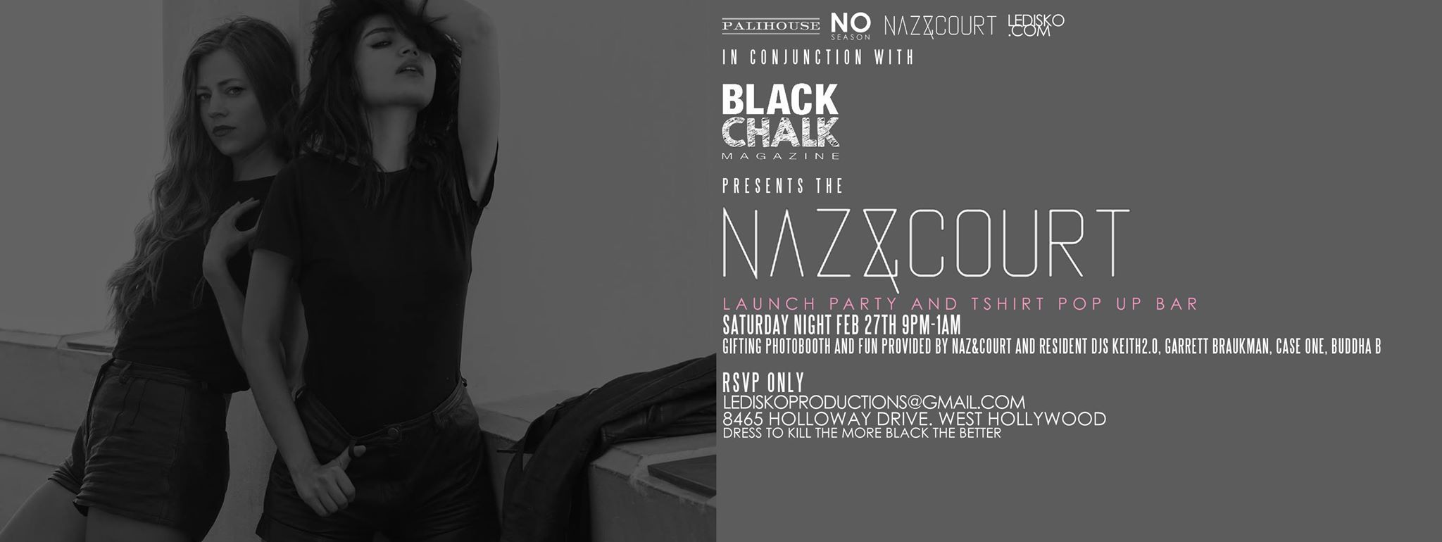Black Chalk Magazine / Naz&Court