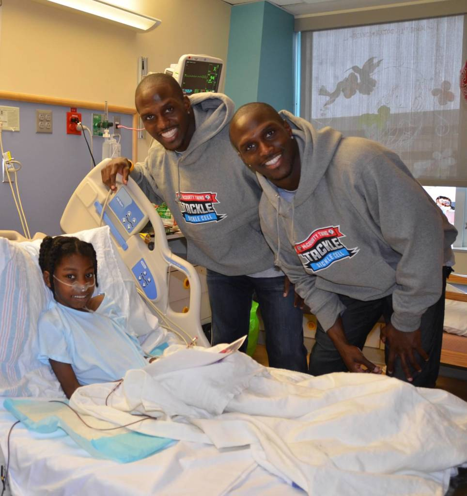 mccourty twins tackle sickle cell