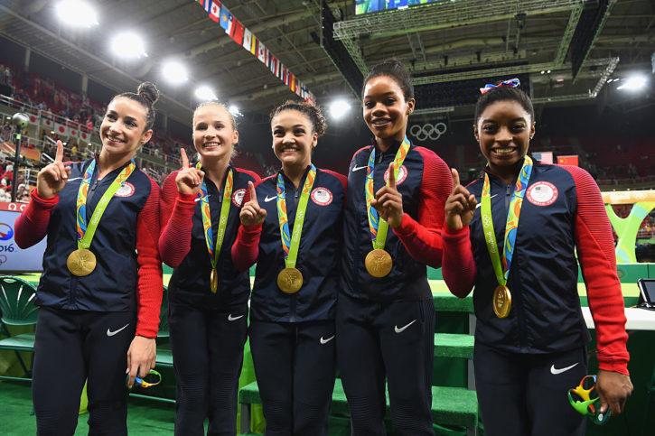 Team USA gold medalists