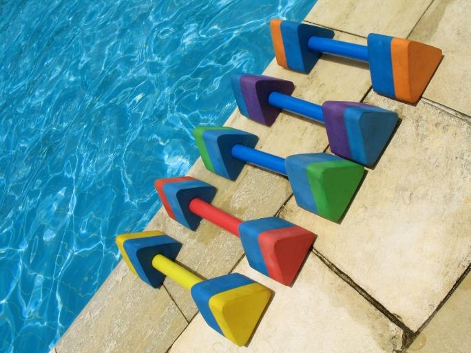 water aerobics