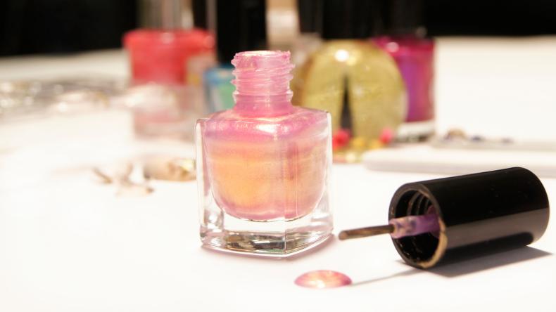 nail polish close up