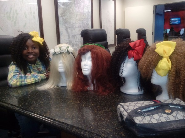 Lauren LaRay cancer wigs