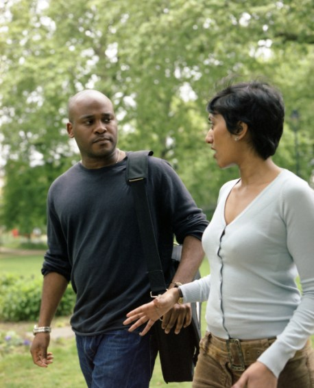 Discussion in the Park