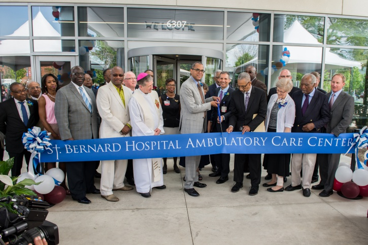 Ambulatory Care Center Ribbon Cutting