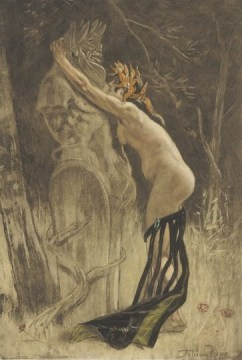 Homage to Pan - Felicien Rops