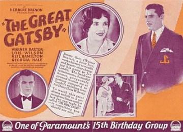 グレート・ギャツビー 或る男の一生 1926
