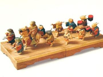 霊鑑寺 十二支人形 江戸時代