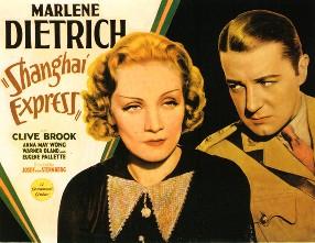 上海特急 1932 Shanghai_Express_film_poster