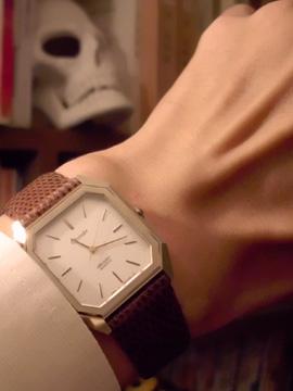 トカゲ革 リザード ベルト 腕時計