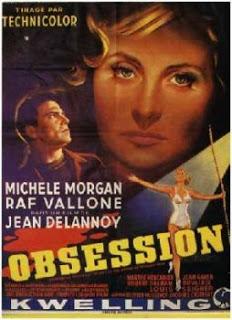 妄執の影(愛の迷路) Obsession_1954_poster