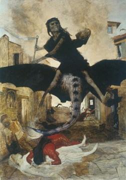 アルノルト・ベックリン 「ペスト」(1898)