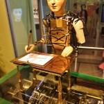 『ヒューゴの不思議な発明』の絵を描く自動人形のモデル