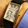 アール・デコなTISSOT(ティソ)の腕時計が加わりトノー型スモセコ五人衆に