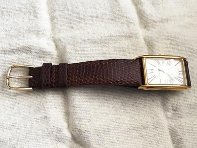 腕時計ベルト トカゲ