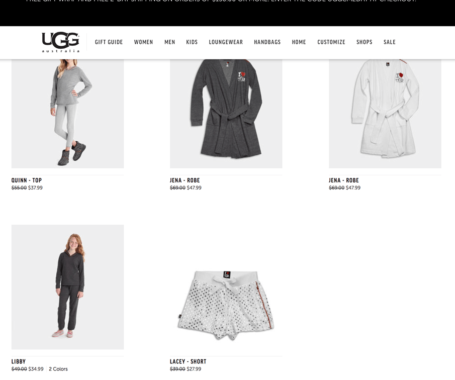 ugg friday website