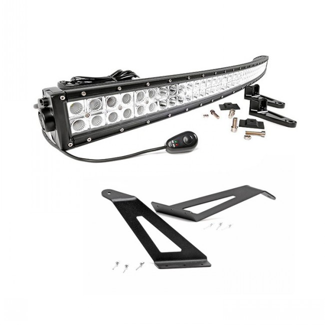 chevy 1500 with light bar