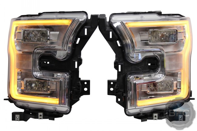 2015-2017 Ford F150 Complete OEM LED Headlight Upgrade Package