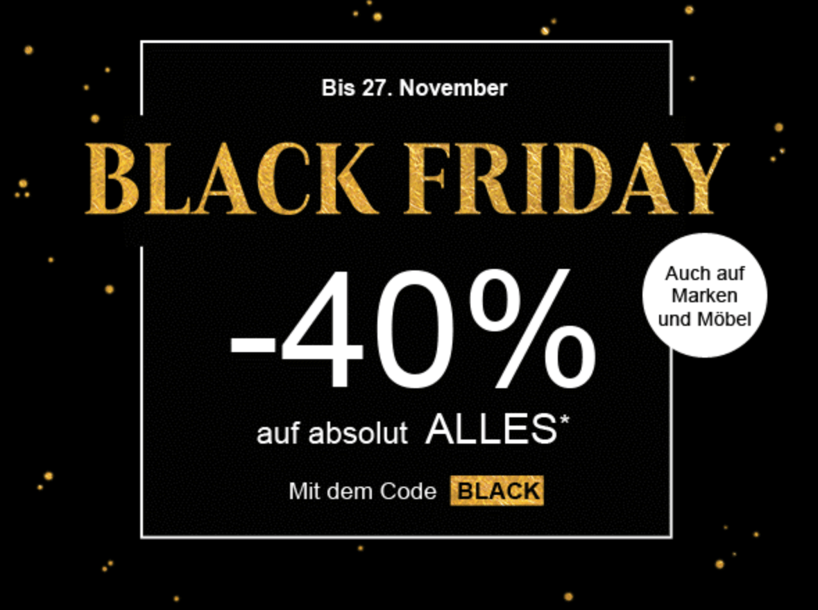 Black Friday Wann 40 Auf Alles Bei La Redoute Black Friday Schweiz 2018