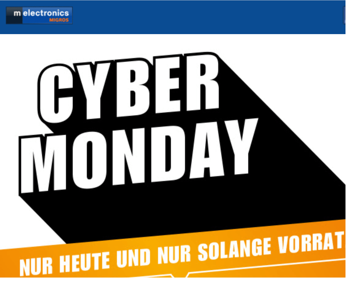 Wann Ist Black Friday Melectronics Cyber Monday Angebote Z B Gopro Hero 5 Mit