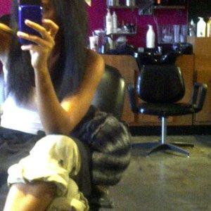 Angela Simmons, Natural Hair