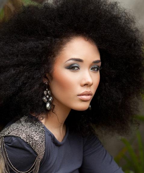 Kreesha Natural Hair Style Icon Black Girl With Long Hair