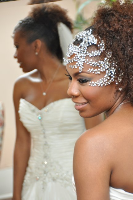 Halea // Natural Hair Bride | Black Girl With Long Hair