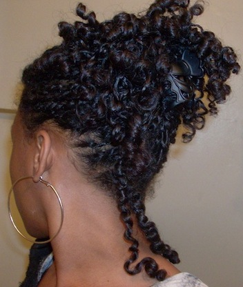 ty 3c 4a natural hair style