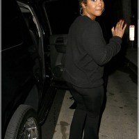 Toni Braxton Rocks her Natural Curls for a Dinner Out