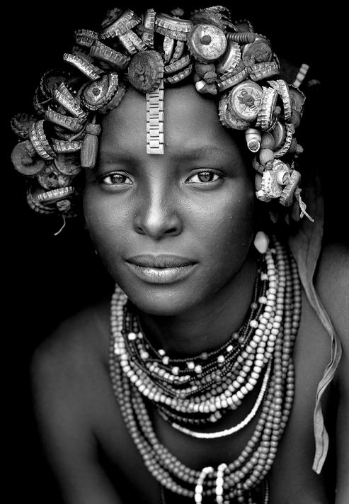 ethiopian women and children of