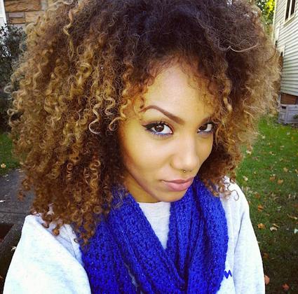alyssa 3c natural hair style