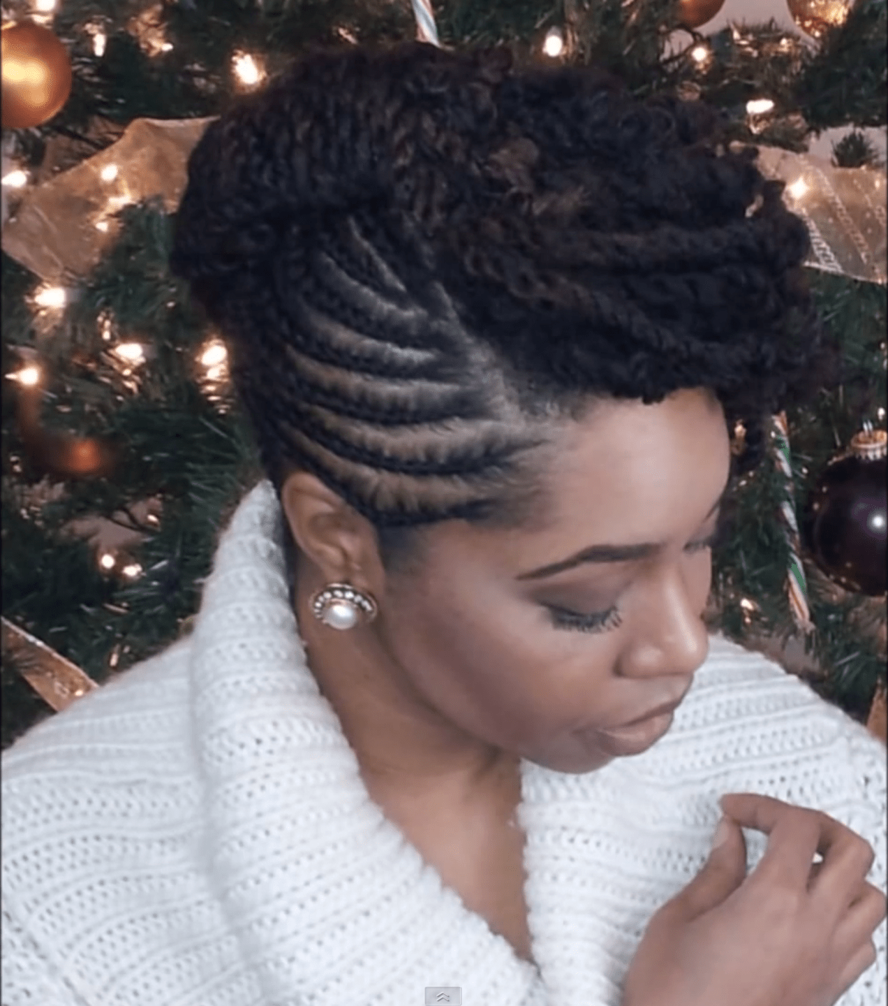 5 fun natural hair styles bring