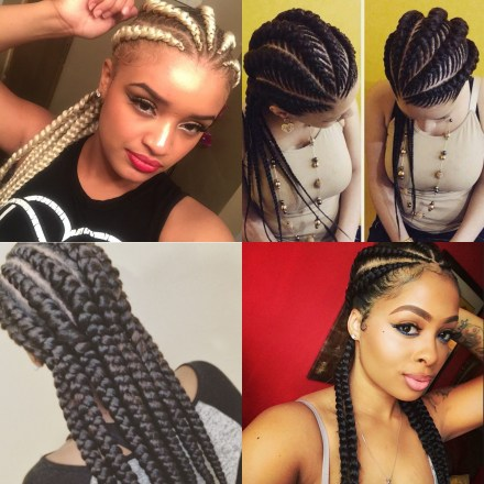 16 photos of ghana braids one of summer's hottest trends