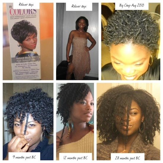 Natural Hair Growth Journey Pictures