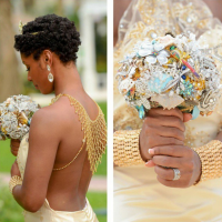 Natural Vlogger Carmen of MyNaturalSistas Got Married And Her Wedding Pics Are Giving Us Life