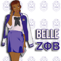 Disney Princesses Reimagined as Members of Black Sororities