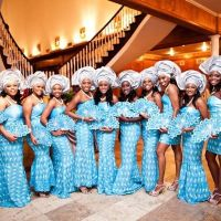 10 Gorgeous Photos of Nigerian Aso-Ebi (aka Bridesmaids)