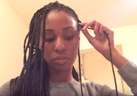 How To Maintain Your Box Braids While Keeping Your Own ...