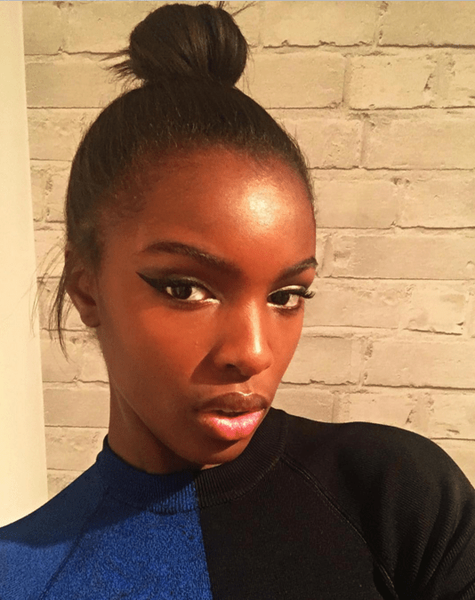 pics model leomie anderson was given a shockingly bad