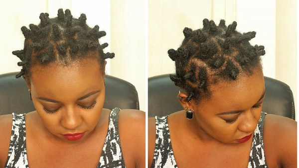 Knot out on natural hair on bantu knot out on natural hair style