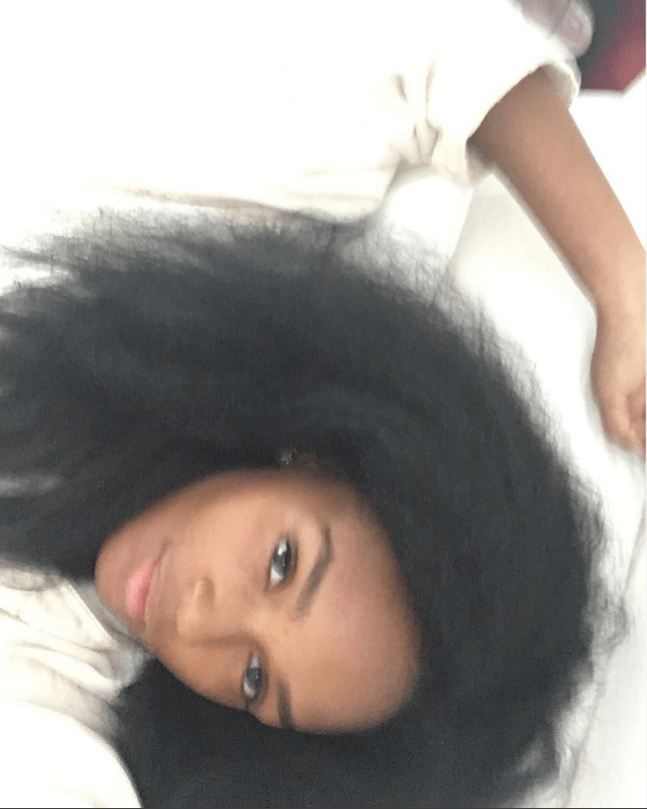 [Pics] Janelle Monae Posts a Series of Bare-Faced, Natural Hair Selfies on Instagram