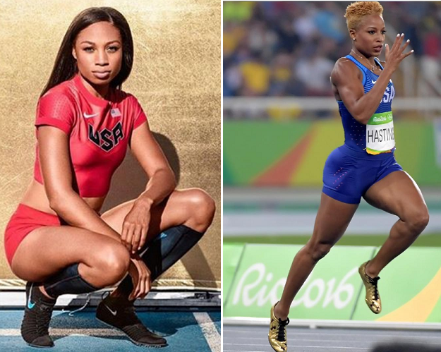 22 Pictures that Capture the Beauty and Power of America's Olympic Hurdlers and Sprinters