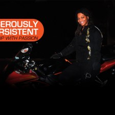 BEAUTIFUL BIKER: DANGEROUSLY PERSISTENT