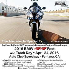 On Track at the 2016 BMW RR Fest